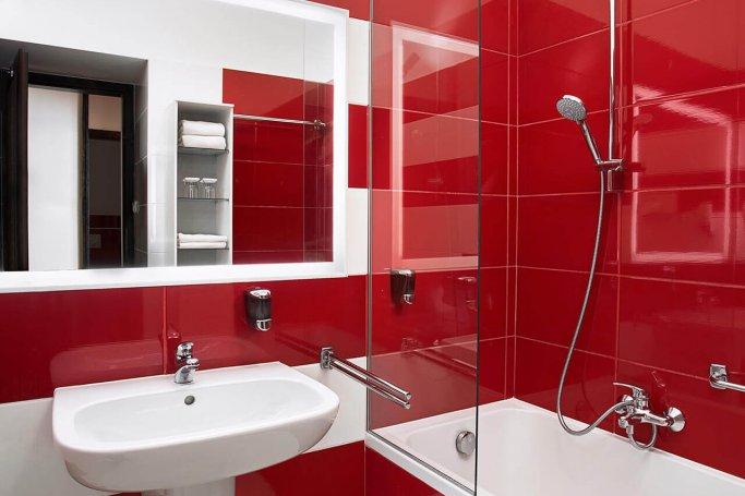 Standard fürdőszoba kádas